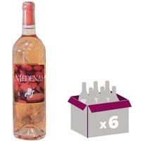 Cave de Pazac Medenas IGP Coteaux du Pont du Gard 2016 - Vin rosé x6
