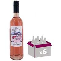 Le Rosé Agricole Cave de Castelmaure AOP Corbières Rosé 2016 - Vin rosé