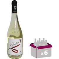 VENTOUX 2016 Ventoux Emotion Vin du Rhône - Blanc - 75cl - AOC x 6