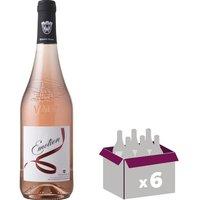 VENTOUX 2016 Ventoux Emotion Vin du Rhône - Rosé - 75cl - AOC x 6