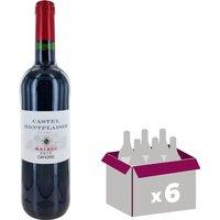 HAUT-MONPLAISIR Cahors Vin de Bordeaux - Rouge - 75 cl x 6