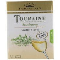 Touraine Sauvignon - Vieilles Vignes - Vin Blanc - 3 L