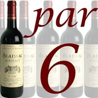 Blaissac Bordeaux rouge 75cl x 6
