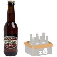 BOURGANEL MARRONS Bière Ambrée - 6x 33 cl - 5 %
