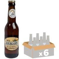 BOURGANEL MIEL Bière Ambrée - 6x 33 cl - 5 %
