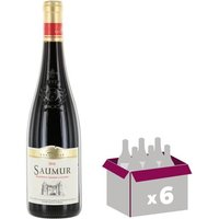 SAUMUR Loire et Centre - Vin Rouge - 75 Cl x6