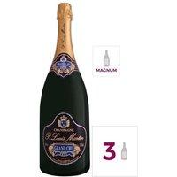 GH MARTEL Paul Louis Martin Grand Cru Champagne Brut - Blanc - 1,5 l x 3
