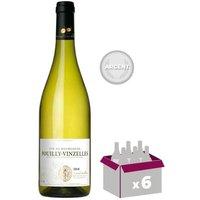 Pouilly Vinzelles 2015 Cave Grands Crus - Blanc - 6x 75 cl