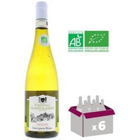 GAILLARD Touraine Sauvignon BIO - Vin Blanc - 75 Cl x6