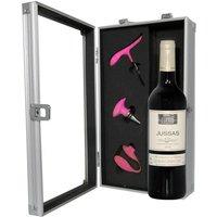 Coffret Fashion Rose Vin et Accessoires Sommelier