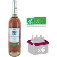Club Des Sommeliers 2014 Syrah Grenache Pays d'Oc Bio - Vin Rosé - 75 cl