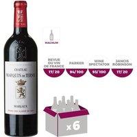 MAGNUM Château Marquis de Terme 2015 Margaux - Vin Rouge - 1,5 L
