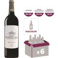 MAGNUM Château Pedesclaux Pauillac 2015 - Vin rouge