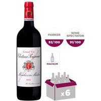 CHÂTEAU POUJEAUX 2015 Moulis Vin de Bordeaux - Rouge - 6x 150 cl