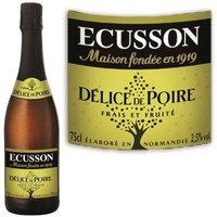 Cidre Ecusson délices de Poire 75 cl 2,5°