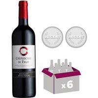 CREPUSCULE DE FRUIT 2016 Côtes du Marmandais Vin du Sud Ouest - Rouge - 75 cl x6 - AOP