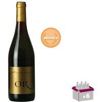 MONTPEYROUX Cuvée OR Languedoc - Vin Rouge - 75 cl - Médaille de Bronze x6