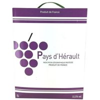 Pays d'Herault IGP - Vin Rouge - 5 L