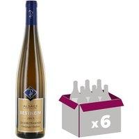 Carton de 6 ALTENBERG DE BERGHEIM Gewurztraminer Vin d' Alsace vendanges tardives - Blanc - Doux - 75 cl x6