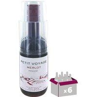 Petit Voyage Merlot Pays d'Oc - Vin Rouge - 18,7 cl