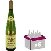 GEWURZTRAMIN Klipfel Vin d'Alsace  - Blanc - 75 cl x 6