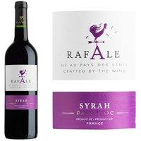 Rafale 2015 Syrah IGP Pays d'Oc -Vin rouge du Languedoc Roussillon