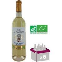 JEAN DE MAUBASTIT Côtes de Bergerac mŒlleux - Blanc - 6x 75 cl - AOC