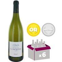 Domaine des Conquêtes Initial IGP Pays de l'Hérault 2015 - Vin blanc