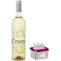 VAR CRAZY Vin de Provence - Blanc -  75 cl - IGP x 6