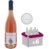 Domaine des Conquêtes Alice IGP Pays de l'Hérault 2016 - Vin rosé