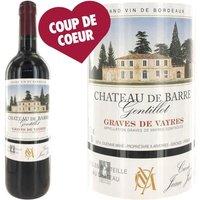 Château de Barre 2012 Graves de Vayres - Vin rouge de Bordeaux