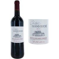 Château Grand Duché 2013 Montagne Saint-Emilion - Vin rouge de Bordeaux