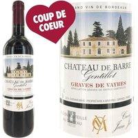 Château de Barre Cuvée 2014 Graves de Vayres - Vin rouge de Bordeaux