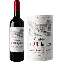 Château de Malydure 2015 Lussac Saint Emilion - Vin rouge de Bordeaux