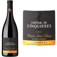 Château de Jonquières Cuvée Jean Devic 2014 Corbières - Vin rouge du Languedoc