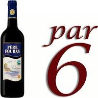 Vin pays Charentais Père Fouras vin rouge x6