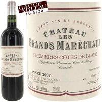 Château Les Grands Maréchaux 2007 Côtes de Blaye - Vin rouge de Bordeaux