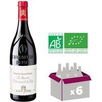 Alain Jaume Domaine Grand Veneur Châteauneuf du Pape Bio 2015 - Vin rouge