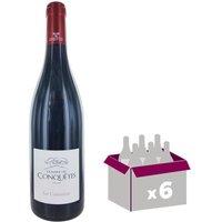 Domaine des Conquêtes Les Convoitises IGP Pays de l'Hérault 2015 - Vin rouge