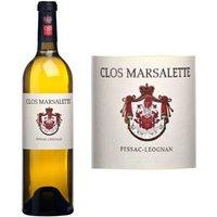 Clos Marsalette Pessac Léognan Grand Vin de Bordeaux 2007 - Vin Blanc