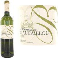 Bordeaux de Maucaillou blanc Bordeaux 2013 x1