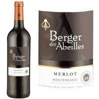 Berger des Abeilles 2013 Merlot Méditerranée - Vin rouge du Languedoc Roussillon