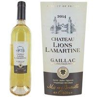 Château Lions Lamartine Gaillac MŒlleux 2014  ...