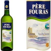 Vin pays Charentais Père Fouras vin blanc x1