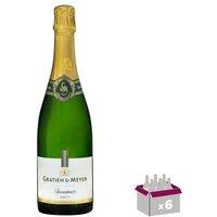 Gratien & Meyer Saumur brut AOC - Blanc - 0,75l - X6