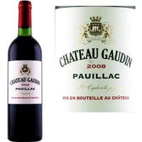 Château Gaudin 2008 Pauillac - Vin rouge de Bordeaux