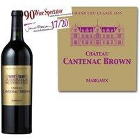 Château Cantenac Brown 2012 Margaux Grand Cru - Vin rouge de Bordeaux