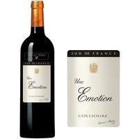 Bernard Magrez Une Emotion 2012 Collioure - Vin rouge du Languedoc Roussillon