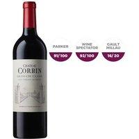 Château Corbin 2015 Saint Emilion Grand Cru - Vin rouge de Bordeaux