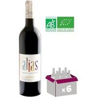 Alias Pinot noir Vin de Val de Loire - Rouge - 6x 75 cl - IGP